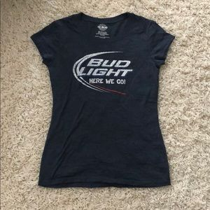 Tops - Bud Light t shirt